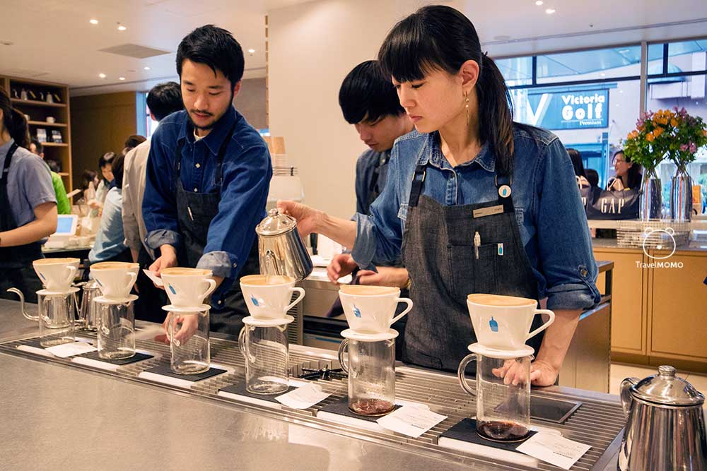 Blue Bottle Coffee Pour Over Video