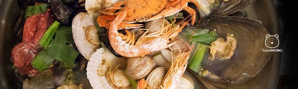All-you-can-eat Seafood in Busan