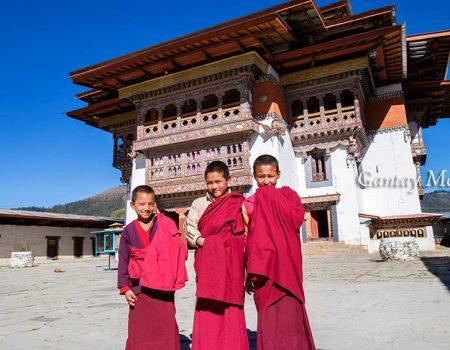 Gangtey Monastery in Phobjikha Valley